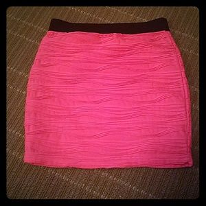 Hot pink skirt forever 21